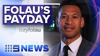 Rugby Australia Reportedly Settles With Israel Folau For $8 Million | Nine News Australia