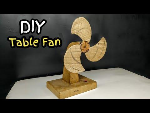 Diy Cardboard Electric Fan |cardboard Craft easy simple Idea