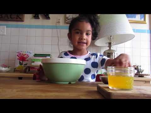 Lucy + Lucci Making Mango Salsa