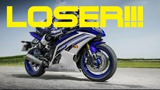 WHY 600CC SPORTBIKE RIDERS SUCK!!!