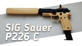 Как сделать SIG Sauer P226 C из дерева?