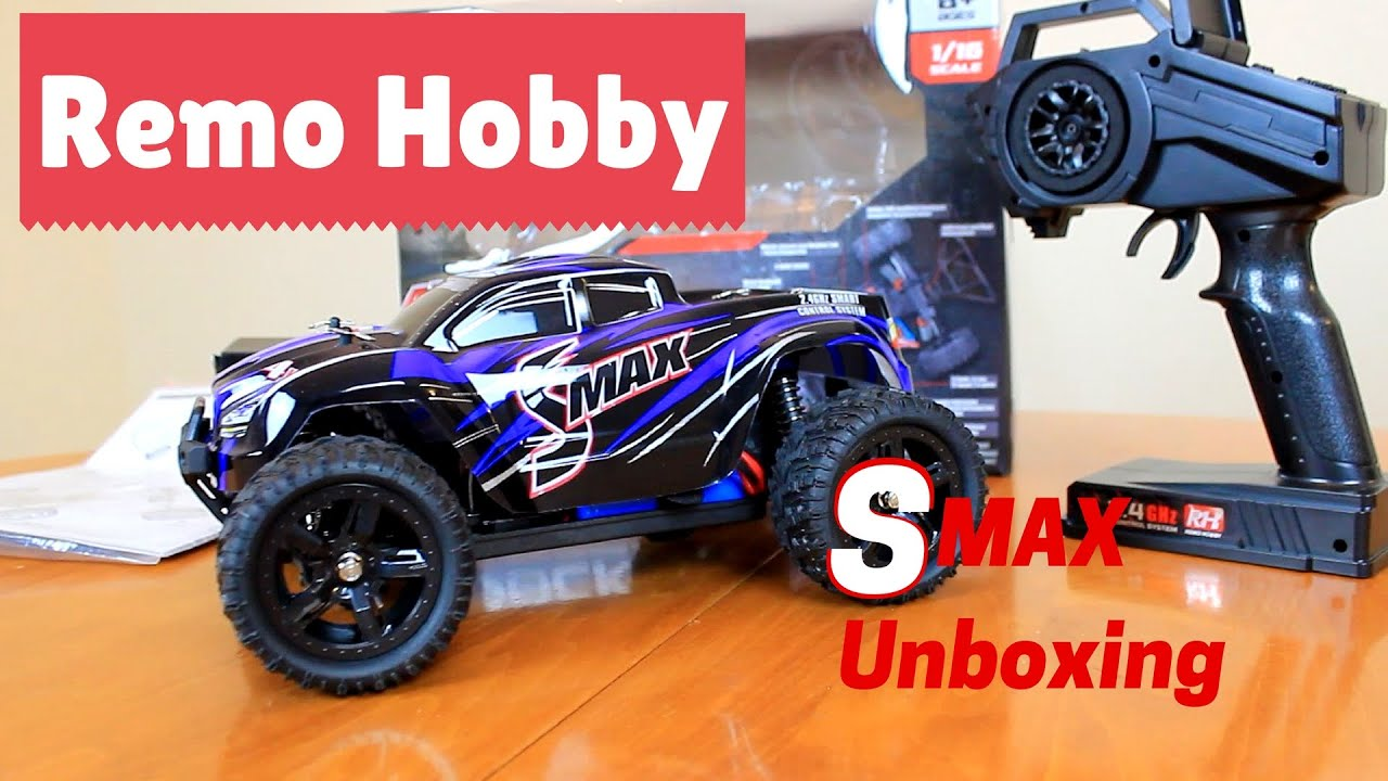 Remo Hobby SMax 1 16 unboxing Traxxas Clone