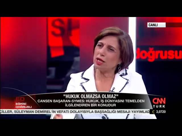 Taha Akyol - TÜSİAD Başkanı Cansen Başaran - Symes Söyleşisi / CNN Türk