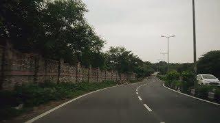 Driving in Delhi, India (Central Ridge, Pusa Road, Karol Bagh & Dev Nagar)