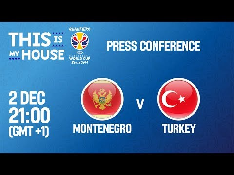 Montenegro v Turkey - Press Conference - FIBA Basketball World Cup 2019 European Qualifiers