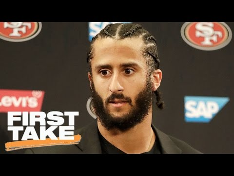 Should The Cowboys Sign Colin Kaepernick? | First Take | May 3, 2017