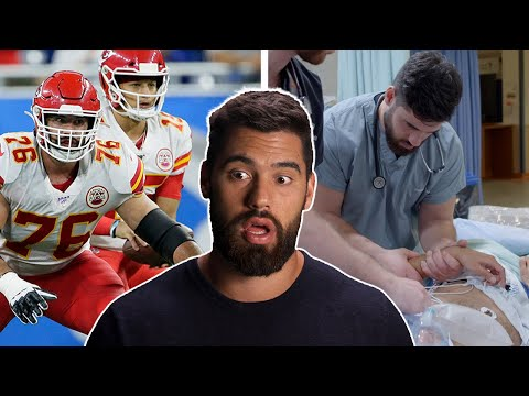 The First Active NFL Player to Become a Doctor: Blocking for Mahomes & Saving Lives image