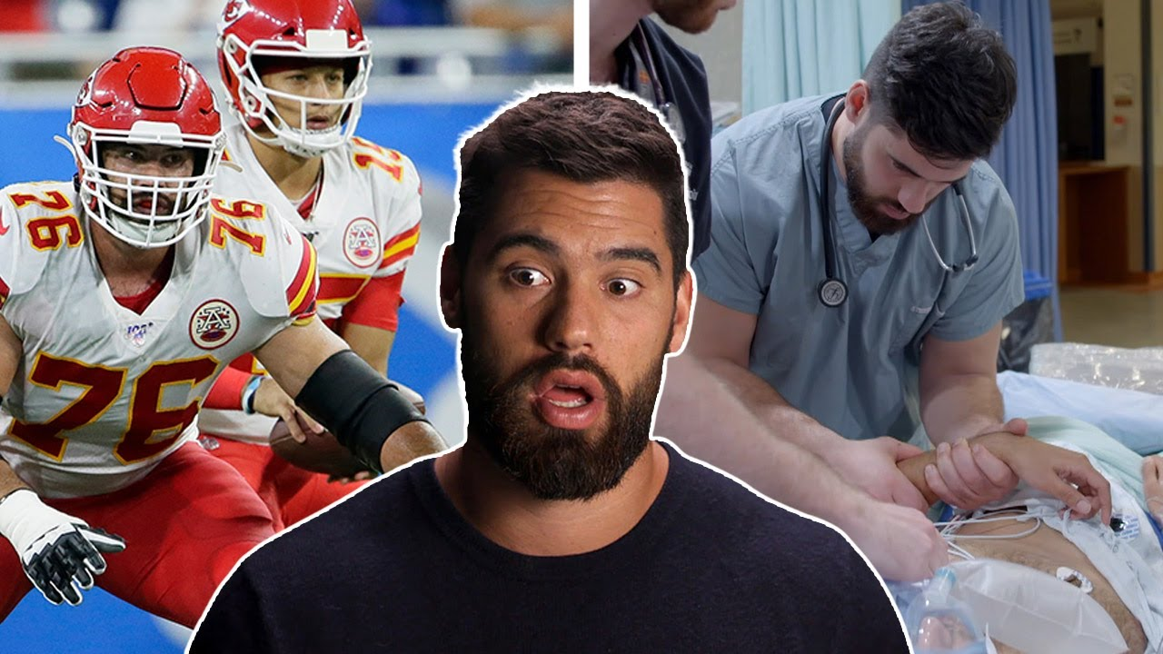 Chiefs' Laurent Duvernay-Tardif always knew he'd choose between ...