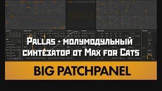 Pallas - молумодульный синтезатор от Max for Cats