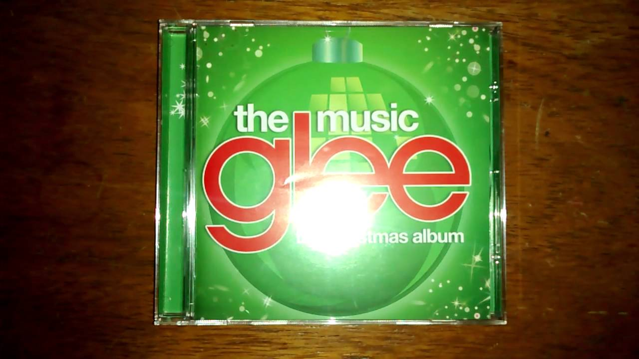 Unboxing CD Glee: The Music, The Christmas Album - YouTube
