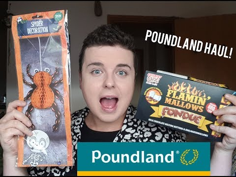 POUNDLAND HAUL 🛍 | NEW HALLOWEEN ITEMS🎃 | BARGAINS | DISCOUNT STORE