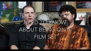 10 Tips for being on a Film Set