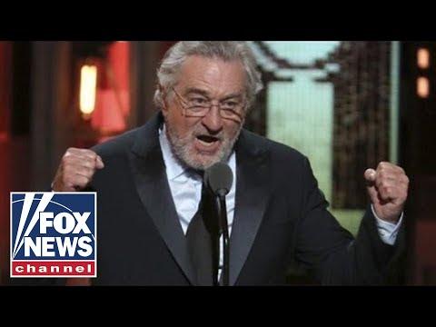 De Niro cheered for hurling fbomb at Trump