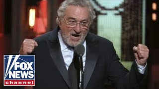 De Niro cheered for hurling f-bomb at Trump