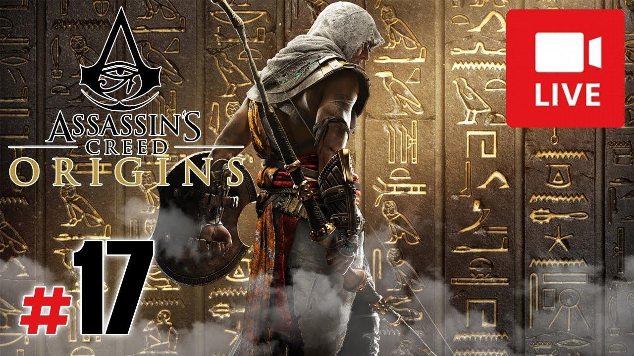 "[Archiwum] Live – Assassin's Creed Origins! (7) – [2/2] – ""Spalona wiocha i śledztwo"""