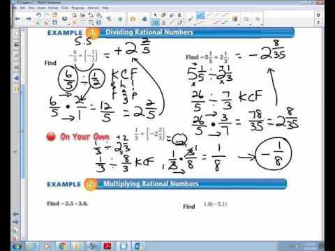 2 4 Multiplying and Dividing Rational Numbers