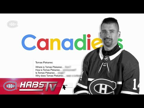 Tomas Plekanec answers the Internet's most searched questions