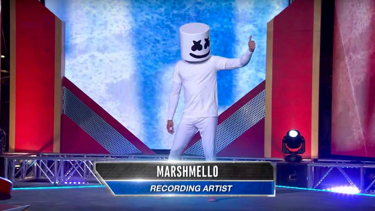 [VIDEO] - Marshmello vs. American Ninja Warrior - Will Mello Prevail? 7