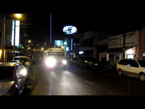 Walking Tour of Nogales Sonora Mexico After Dark