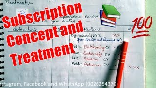 SUBSCRIPTION - Full Concept and Treatment !!!