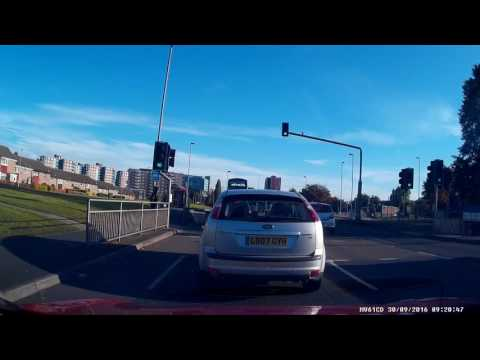 DASH CAM: Why Not To Cross On Red Light