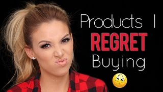 Products I Regret Buying | LustreLux