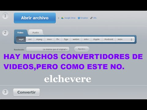 COMO CONVERTIR VIDEOS A OTROS FORMATOS HD SIN PROGRAMAS