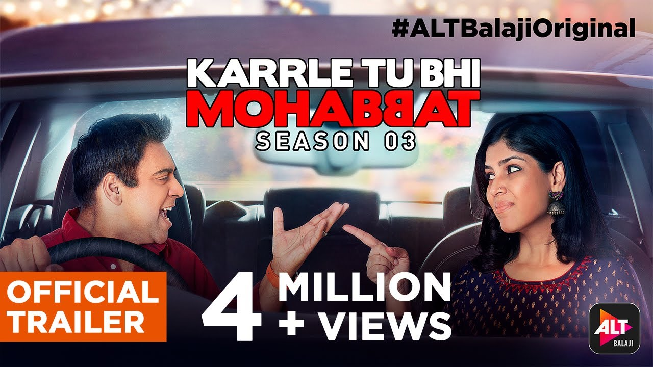 Download Karrle Tu Bhi Mohabbat Season 3 | Official Trailer | Ram Kapoor | Sakshi Tanwar | ALTBalaji