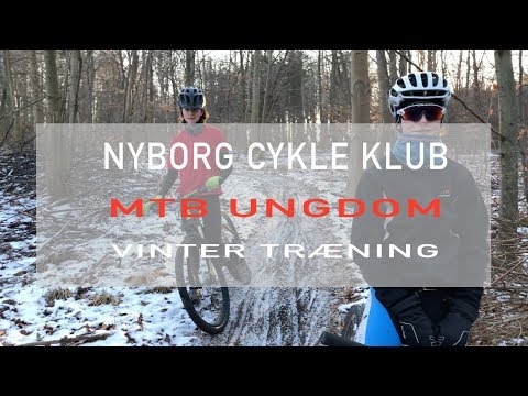 MTB Ungdom Vinter træning Nyborg Cykle Klub 2018