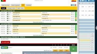 Португалия- U21 - Испания U21 ставка  Х2  кф 1.22