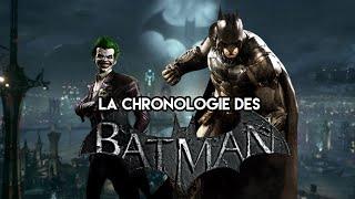 La CHRONOLOGIE des BATMAN : ARKHAM 🃏