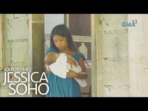 Kapuso Mo, Jessica Soho: 11-anyos na bata, tumatayo nang ina sa kanyang mga kapatid!