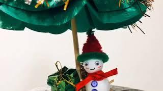 DIY 聖誕樹🎄與可愛小雪人⛄️