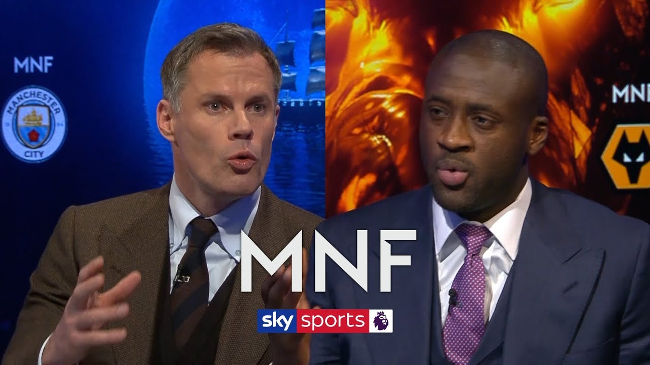 Jamie Carragher and Yaya Toure debate who will win the Premier League | MNF