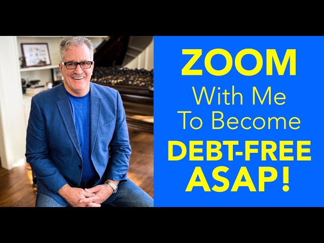 ZOOM With Me to Become Debt-Free ASAP!
