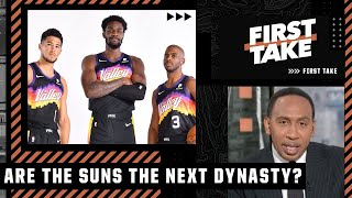 Stephen A. isn't ready to call the Suns the NBA's next dynasty