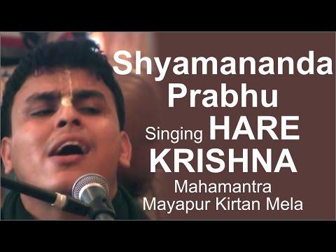 Shyamananda Prabhu Singing Hare Krishna Mahamantra Mayapur Kirtan Mela 2015 Day 3 | ISKCON