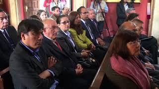 Tema: UNMSM PRESENTA POLÍTICAS DE RESPONSABILIDAD SOCIAL