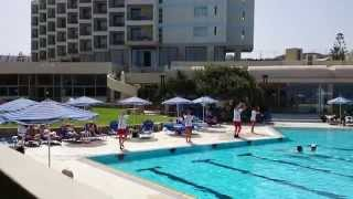 Animation Jingle Before Lunch Time in Aquis Arina Sand Hotel Crete 2014