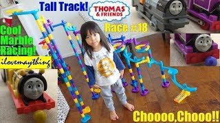 Thomas the Tank Engine and Friends Marble Racing Elimination Tournament. Kids
