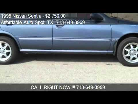 1998 Nissan Sentra GTX for sale in Houston, TX 77087 at Affo