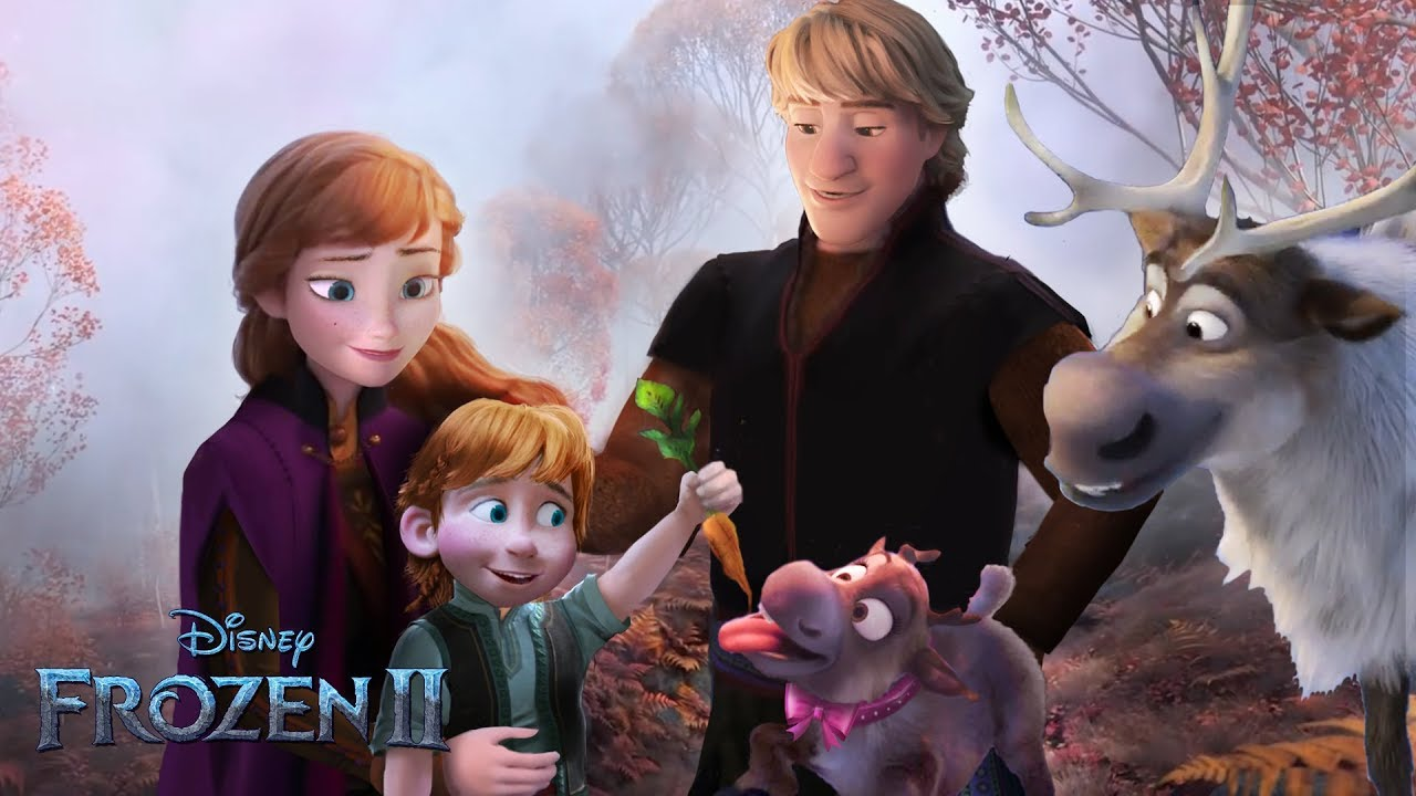Frozen 2: Anna and Kristoff have a son! And a cute ...