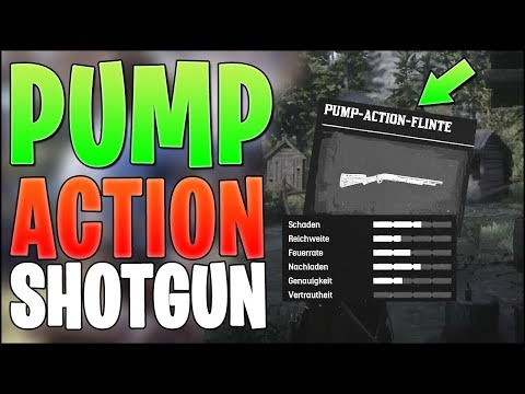 RED DEAD REDEMPTION 2 - BESTE GRATIS EARLY GAME PUMPGUN - Pump Action Flinte Fundort