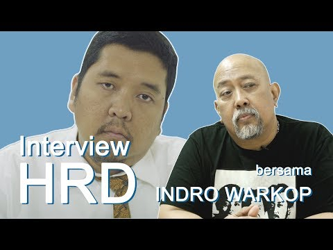 Om Indro WARKOP Diinterview HRD