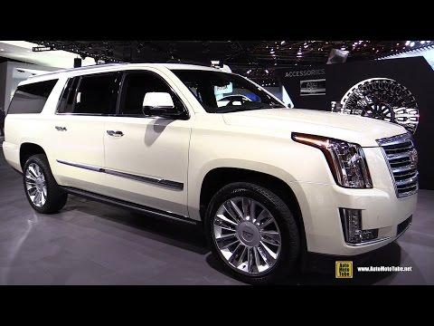 2015 Cadillac Escalade Platinum - Exterior and Interior Walkaround - 2015 Detroit ...