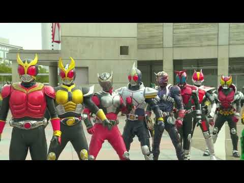 kamen rider gaim : Heisei VS Showa MAD