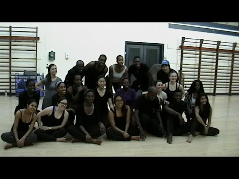 Yale West African Dance Class with Lacina Coulibaly