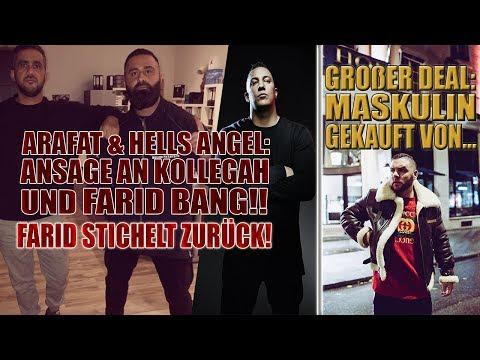 Hells Angel & Arafat: Ansage an Kollegah & Farid Bang!!!   Farid stichelt gegen Bushido   Fler Deal!