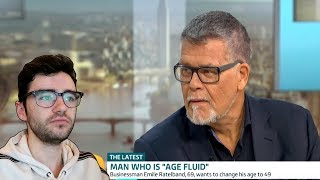 69 YEAR OLD MAN IDENTIFIES AS A 49 YEAR OLD
