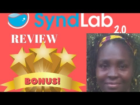 Best Syndlab 2.0 Review And Demo. http://bit.ly/2PlLNR0